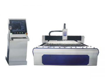 500W 1000W 2000W Fiber Laser Cutting Machine For Steel Plate and Pipe