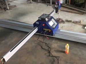 Idoralar bilan Xitoyning arzon 15002500mm metall portativ CNC plazma chiqib ketish mashinasi