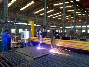 Gantry CNC Plazma chiqib ketish mashinasi va po'lat plitalar uchun olovni kesish mashinasi