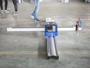 Yangi texnologiya mikro START CNC metall kesuvchi / ko'chma cnc plazma chiqib ketish mashinasi