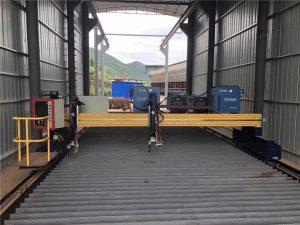 Servo motorli nozik CNC plazma chiqib ketish mashinasi 13000 mm aniq